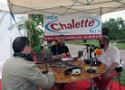 Radio Chalette en direct de la fête
